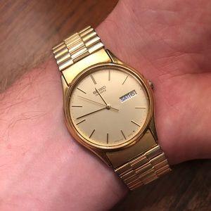 Vintage Men's Seiko Quartz 5Y23-8039 Watch